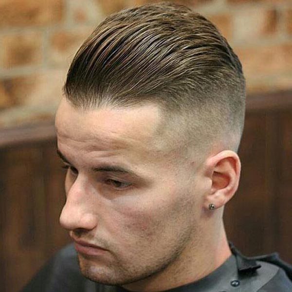 Undercut Brushed Up Haircut