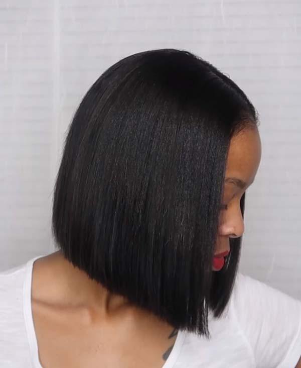 Easy Short Bob Hairstyles for Black Women