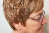 Easy Short Hairstyles for Women Over 50 with Glasses