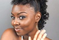 Modern Mohawk Hairstyles for African American Women