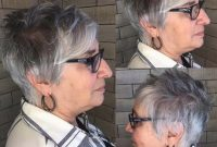 Short Hairstyles for Women Over 50 with Glasses and Thin Hair 2020