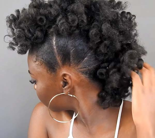 Mohawk Hairstyles For African American Women That Cool Kipperkids Com