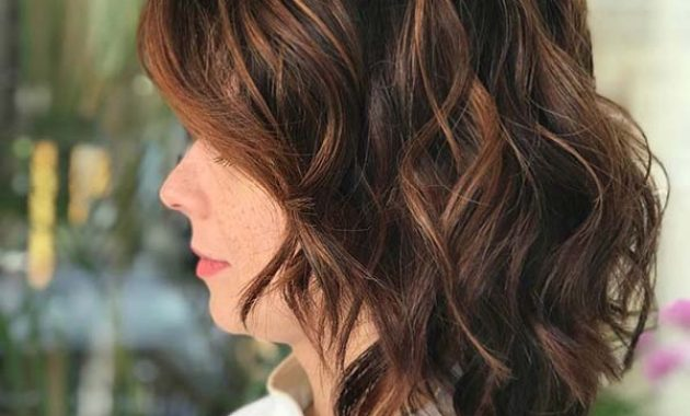 Short to Medium Brunette Choppy Hairstyles for Thick Hair