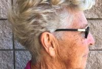Simple Short Hairstyles for Women Over 50 with Glasses