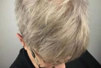 Very Short Hairstyles for Women Over 50 with Glasses