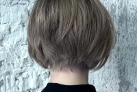 Very Short Inverted Bob Hairstyles Back View