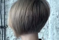 Very Short Inverted Bob Hairstyles with Layers