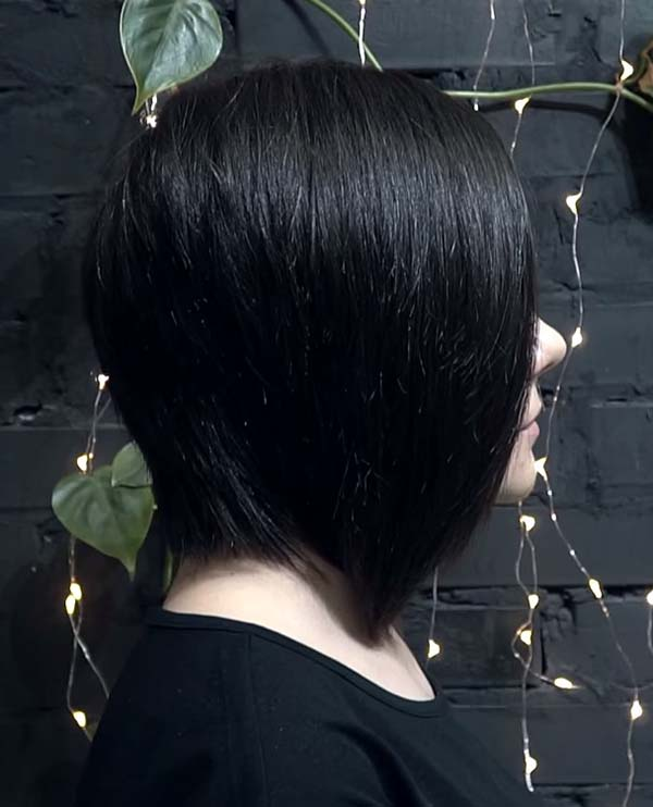 Black Short Bob Hairstyles for Straight Hair