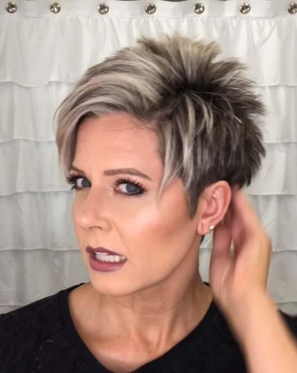 Easy Short Hairstyles for Older Women