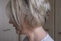 Easy Short Stacked Bob Hairstyles for Women over 40