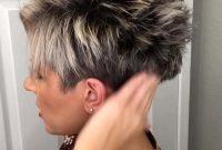 Modern Short Pixie Hairstyles for Older Women
