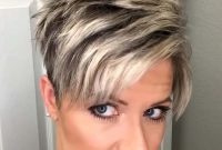 Short Pixie Hairstyles for Older Women with Fine Hair