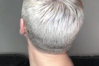 Super Short Hairstyles for Women Back View