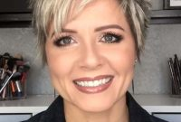 Super Short Pixie Hairstyles for Older Women 2021