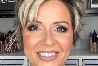 Super Short Pixie Hairstyles for Older Women with Thick Hair