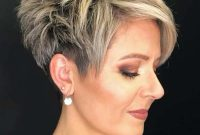 Easy Short Spiky Hairstyles for Mature Women