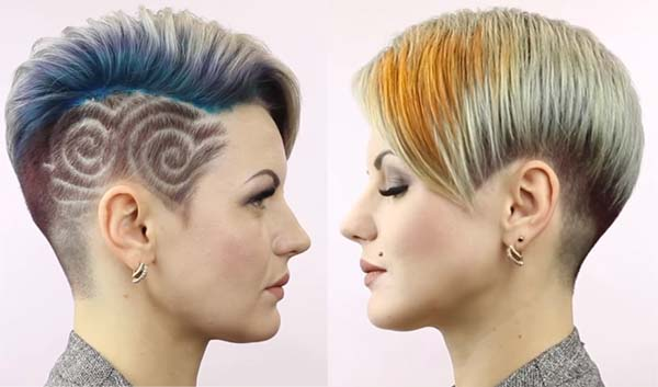 Funky Short Hairstyles for Women Ideas