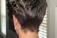 Short Pixie Undercut Hairstyles Back View
